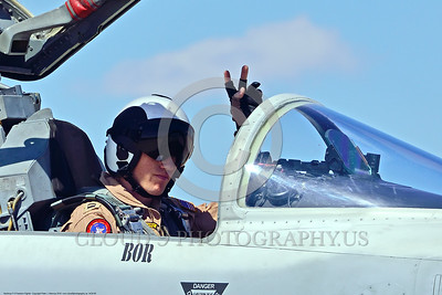 ACM 00085 Portrait of a friendly USN TOP GUN graduate VFC-13 SAINTS Northrop F-5E Freedom Fighter adversary fighter pilot at NAS Fallon 4-2016 military airplane picture by Peter J  Mancus