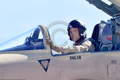 ACM 00050 Portrait of a USN VFC-13 SAINTS Northrop F-5E Freedom Fighter adversary fighter pilot at NAS Fallon 4-2016 military airplane picture by Peter J  Mancus