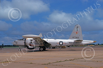 P-2USN 00067 A static Lockheed SP-2H Neptune USN 147965 VP-67 GOLDEN HAWKS Memphis 8-1975 military airplane picture by Lindell H Reynolds