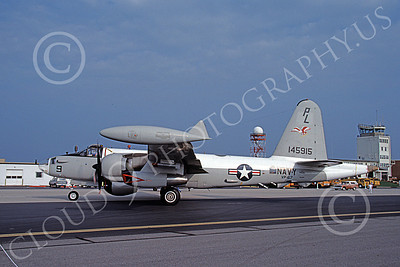 P-2USN 00063 A taxing Lockheed SP-2H Neptune USN 145915 VP-67 9-1985, by Michael Grove, Sr JPG