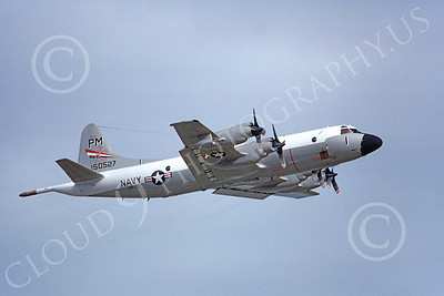 P-3USN 00148 A landing Lockheed P-3 Orion USN 150527 VP-91 2-1978 airplane picture, by Michael Grove, Sr