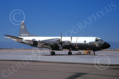 P-3USN 00081 A static Lockheed P-3 Orion USN 150529 VP-19 BIG RED NAS Moffett military airplane picture by Clay Jansson
