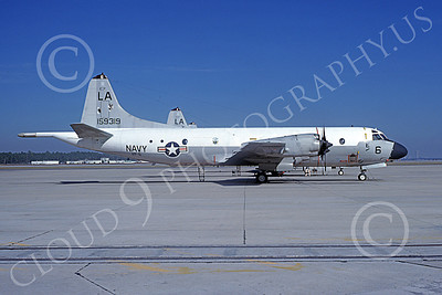 P-3USN 00429 A static Lockheed P-3 Orion USN 159319 VP-5 MAD FOXES LA  code 11-1977 military airplane picture by L B Sides