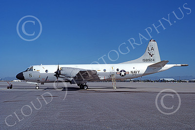 P-3USN 00427 A static Lockheed P-3 Orion USN 158924 VP-5 MAD FOXES LA code 3-1982 military airplane picture by Michael Grove, Sr