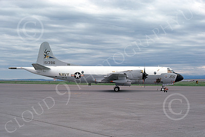 P-3USN 00089 A static Lockheed P-3 Orion USN 151396 VP-8 TIGER SQUADRON 7-1976 military airplane picture by Martin Mann