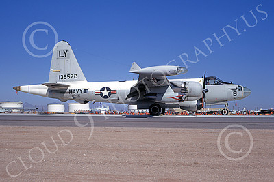 P-2USN 00087 A static Lockheed SP-2H Neptune USN 135572 VP-92 MINUTEMEN 5-1971 military airplane picture by Peter B Lewis