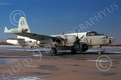 P-2USN 00083 A static Lockheed SP-2H Neptune USN VP-92 MINUTEMEN NAS So Weymouth 1-1974 military airplane picture by Michael Grove, Sr