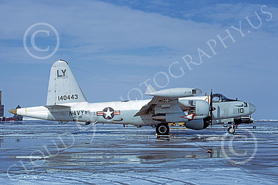 P-2USN 00085 A static Lockheed SP-2H Neptune USN 140443 VP-92 MINUTEMEN Hill AFB 2-1973 military airplane picture by Michael Grove, Sr