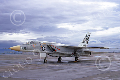 RA-5C 00057 A static North American RA-5C Vigilante USN 147856 RVAH-11 CHECKERTAILS NAS Fallon Dec 1972 military airplane picture by Michael Grove, Sr