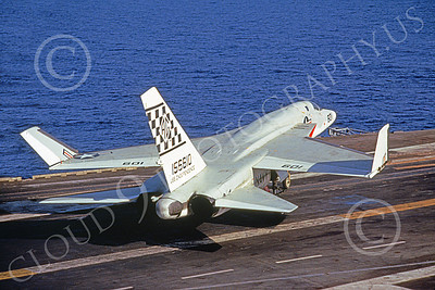 RA-5C 00079 A North American RA-5C Vigilante USN 156610 RVAH-11 CHECKERTAILS on USS Independence military airplane picture by Rick Swedenborg