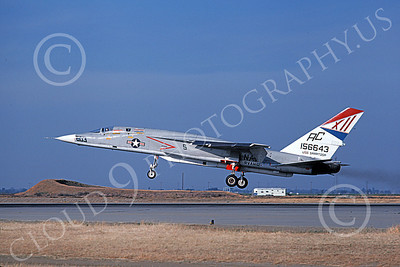 RA-5C 00048 A landing North American RA-5C Vigilante USN 156643 RVAH-12 SPEARTIPS USS Saratoga NAS Lemore May 1979 military airplane picture by Michael Grove, Sr  n