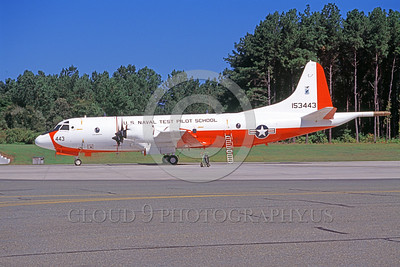 P-3USN 00075 A static Lockheed NP-3D Orion USN 153443 US Naval Test Pilot School NAS Pax River 9-2005 military airplane picture by Michael Mitchell