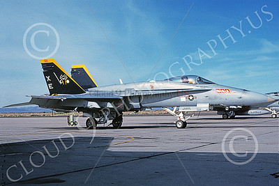 Boeing F-18C-USN 00045 A static Boeing F-18C Hornet USN VX-9 VAMPIRES XE code 6-2002 military airplane picture by Michael Grove, Sr