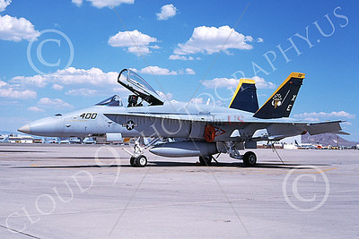 Boeing F-18C-USN 00039 A static Boeing F-18C Hornet USN 164976 VX-9 VAMPIRES XE code 5-1997 military airplane picture by Mick Roth