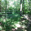 Gate near the trailhead.