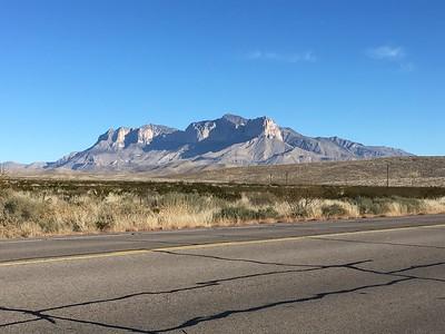 Texas, Guadalupe Peak - Dec. 28, 2017