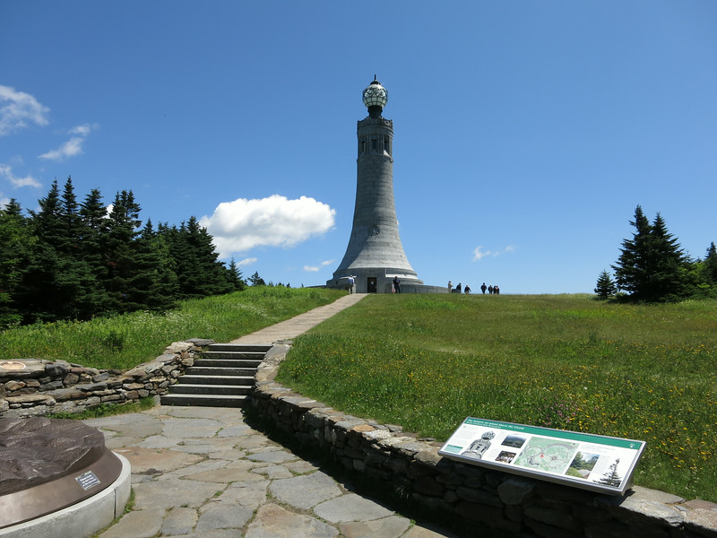 Highpoint memorial monument.