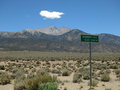 Nevada, Boundary Peak - Jun. 28, 2014