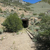 Mine shaft at the Queen Mine.