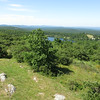 View southwest across Lake Marcia.