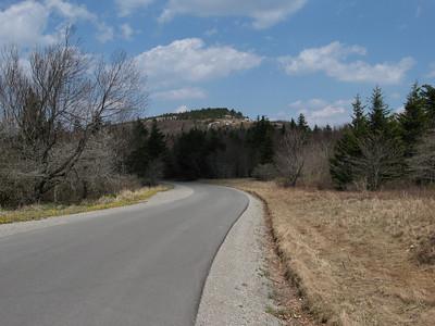 West Virginia, Spruce Knob - Apr. 15, 2010