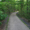 Just follow the paved trail.