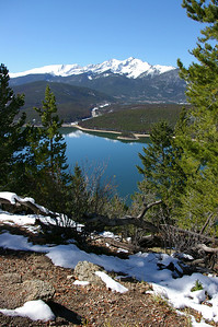 Dillon Reservoir - Tenmile Range