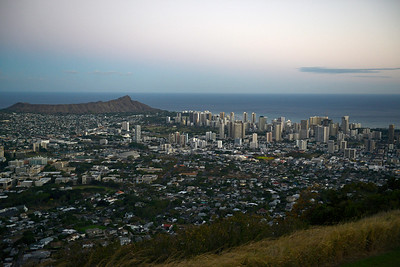 Honolulu - Diamond Head - Tantalus Lookout