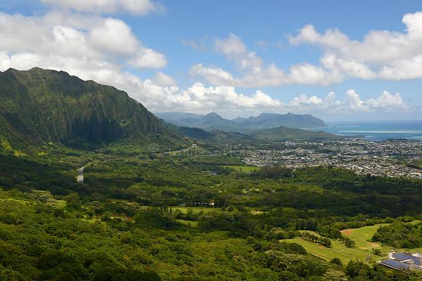 Nu'uanu Pali Lookout, Oahu
