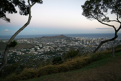 Honolulu, Oahu - Tantalus Lookout