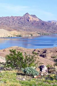 Colorado River south of Hoover Dam