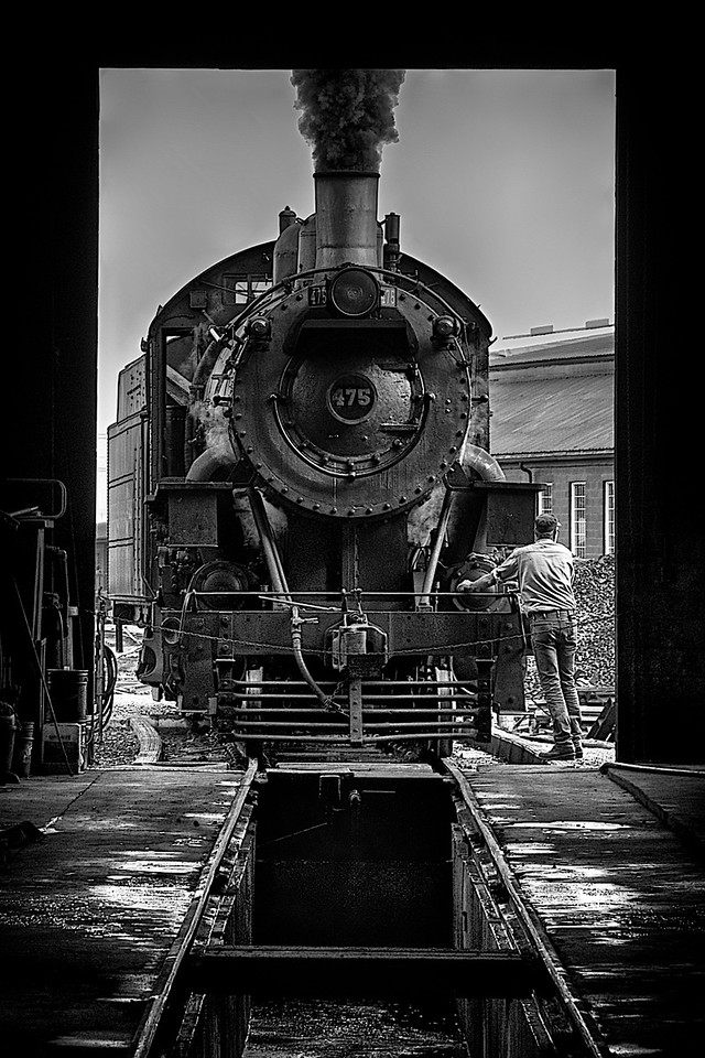 In the Repair Shed, Strasburg