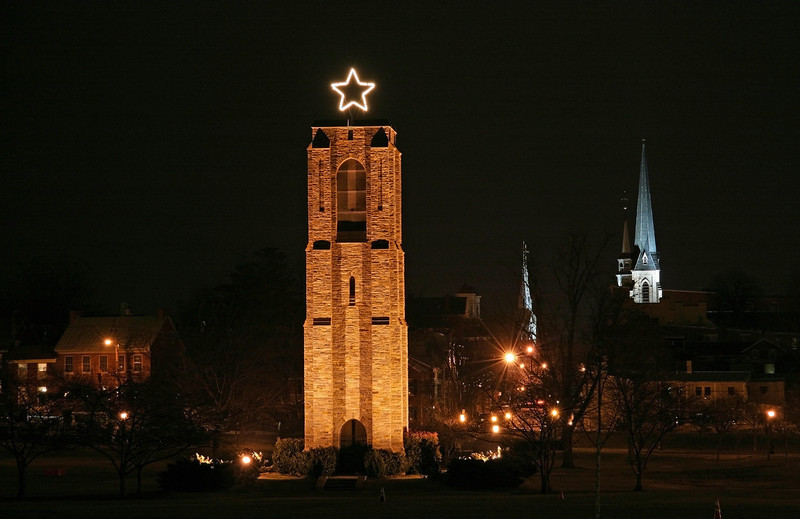 02 Baker Park in Frederick, Md  provides a great vantage point to enjoy the clustered spires