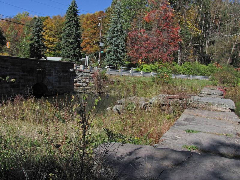 11 Harveys Lake Creek outlet and dam