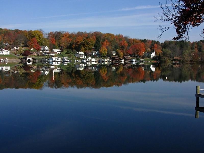 29 Harveys Lake, PA fall foliage