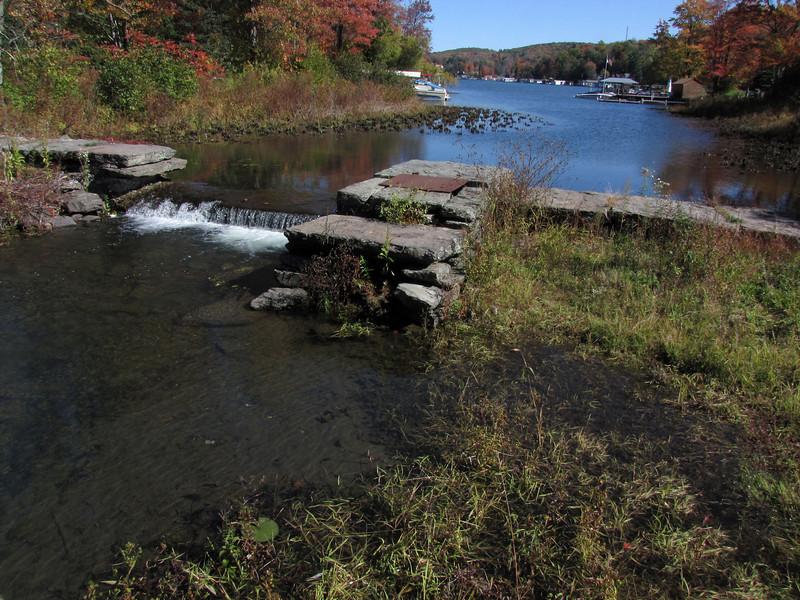09 Harveys Lake Creek outlet