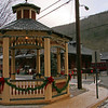 031 Hazard Square gazebo and CNJ Mauch Chunk Station in Jim Thorpe, PA