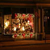013 Victorian-decorated merchant window at Collectables on Broadway adds to the Christmas atmosphere