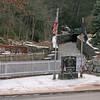 044 Jim Thorpe, PA Vietnam War Memorial on upper Broadway near Mauch Chunk Creek