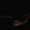 064 Night view of Jim Thorpe, PA from Flagstaff Mountain