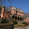 057 Harry Packer Mansion Jim Thorpe, PA • Inspired the Haunted Mansion in Walt Disney World