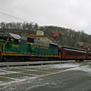 027 The Lehigh Gorge Scenic Railway operates train excursions from historic Jim Thorpe, PA