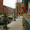 023 Historic Broadway in Jim Thorpe, PA at Christmas