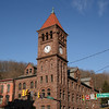 087 Carbon County Courthouse in Jim Thorpe, PA • Sandstone