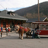 072 CNJ Railroad Depot and Carbon County Visitors Center • Horse-drawn trolley rides
