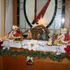 020 The Inn at Jim Thorpe Dining Room Christmas Nativity Display