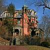 061 Harry Packer Mansion Jim Thorpe, PA • Two story brick mansion with a mansard roof