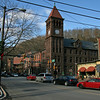 050 Intersection of Lower Broadway Susquehanna St , and Lehigh Ave  in Jim Thorpe, PA
