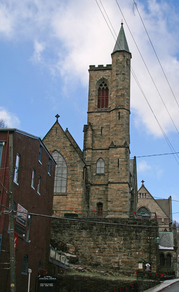 036 Episcopal Parish Of St  Mark and St  John in Jim Thorpe, PA