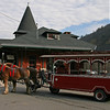 073 CNJ Railroad Depot and Carbon County Visitors Center • Horse-drawn trolley rides
